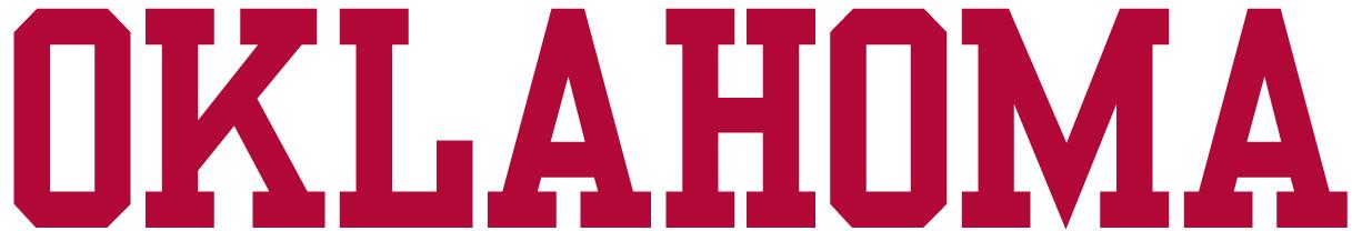 Oklahoma Sooners Wordmark Logo - NCAA Division I (n-r) (NCAA n-r ...