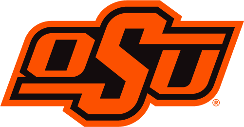 Oklahoma State Cowboys Logo Primary Logo (2019-Pres) - An updated OSU mark, simplified to remove extra black outline SportsLogos.Net