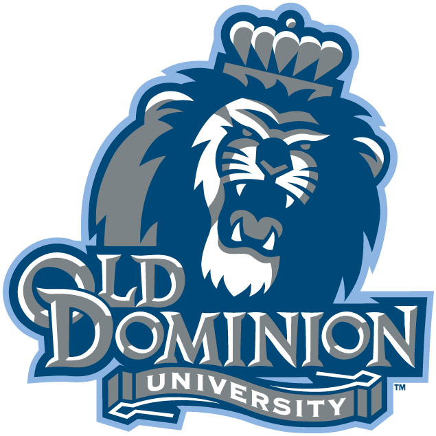 Old Dominion Monarchs Logo Alternate Logo (2003-Pres) - Lion with crown growling over script SportsLogos.Net