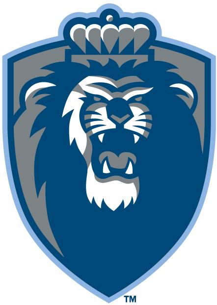Old Dominion Monarchs Logo Secondary Logo (2003-Pres) - Roaring lion on a sliver shield SportsLogos.Net