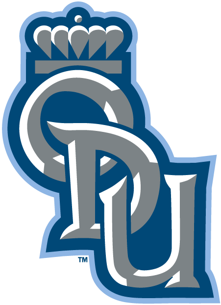 Old Dominion Monarchs Logo Secondary Logo (2003-Pres) - Interlocking silver ODU with blue outline SportsLogos.Net