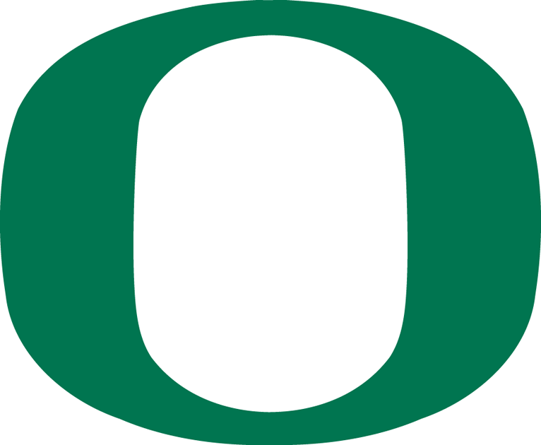 Oregon Ducks Logo Primary Logo (1999-Pres) - Green O SportsLogos.Net