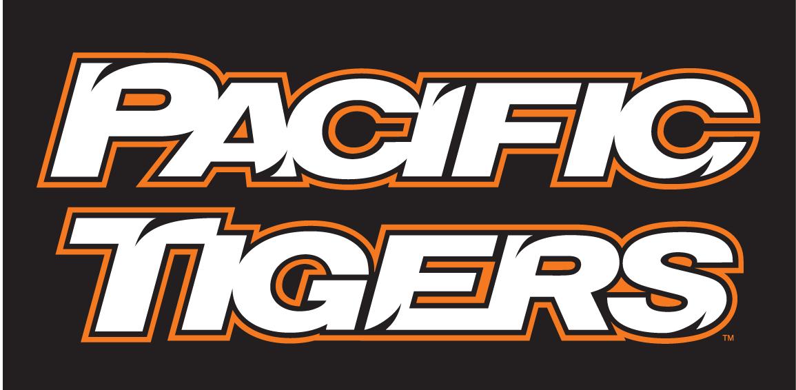 Pacific Tigers Logo Wordmark Logo (1998-Pres) -  SportsLogos.Net