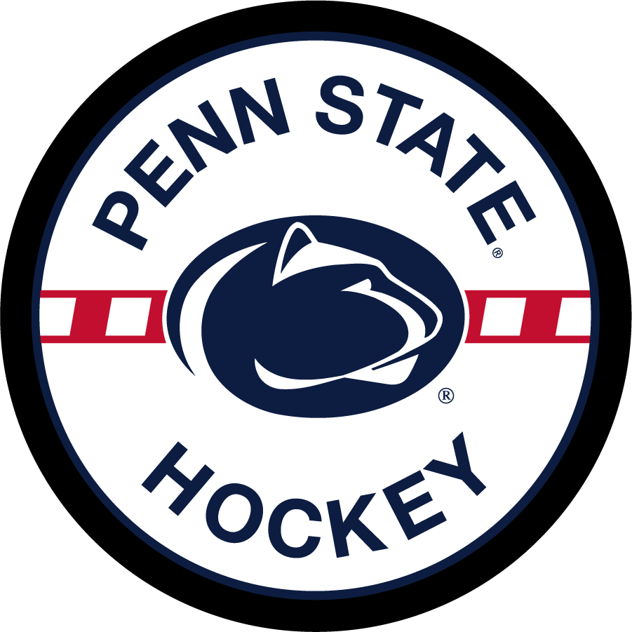 Penn State Nittany Lions Logo Misc Logo (2013-Pres) - Penn State Hockey-specific logo with navy and red. SportsLogos.Net