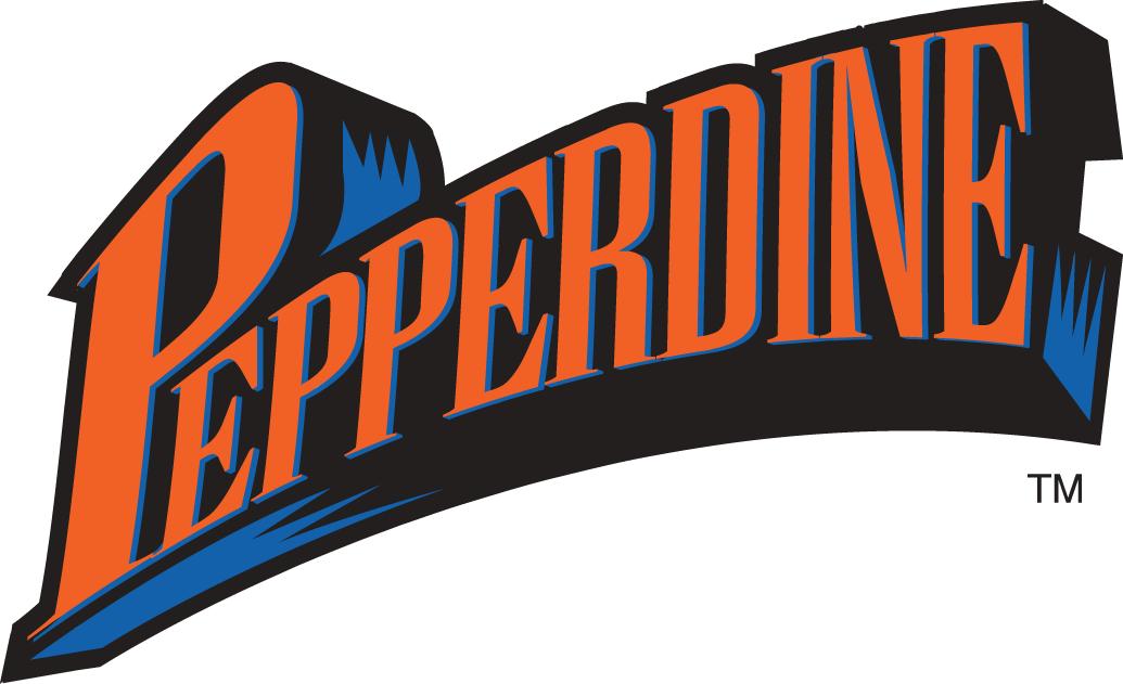 Pepperdine Waves Logo Wordmark Logo (1998-2003) -  SportsLogos.Net