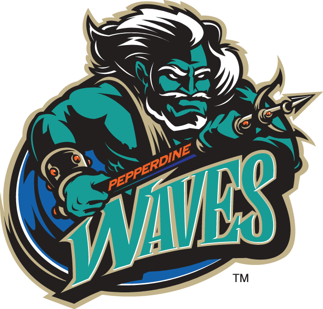 Pepperdine Waves Logo Alternate Logo (1998-2003) -  SportsLogos.Net