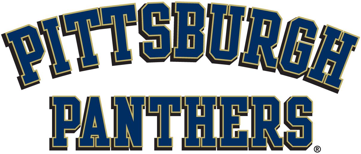 Pittsburgh Panthers Logo Wordmark Logo (1997-2015) -  SportsLogos.Net