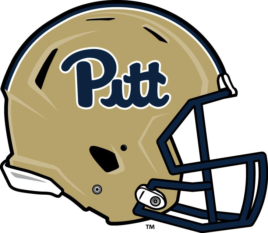 Pittsburgh Panthers Helmet Helmet (2016-2018) -  SportsLogos.Net