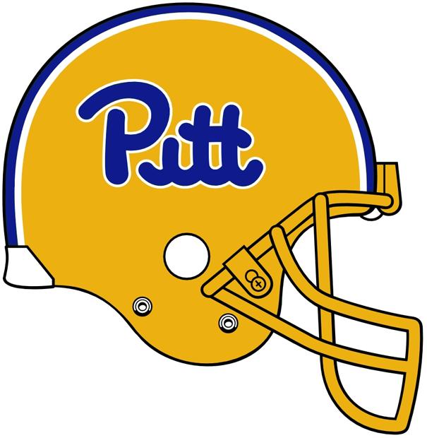 Pittsburgh Panthers Helmet Helmet (1973-1996) -  SportsLogos.Net