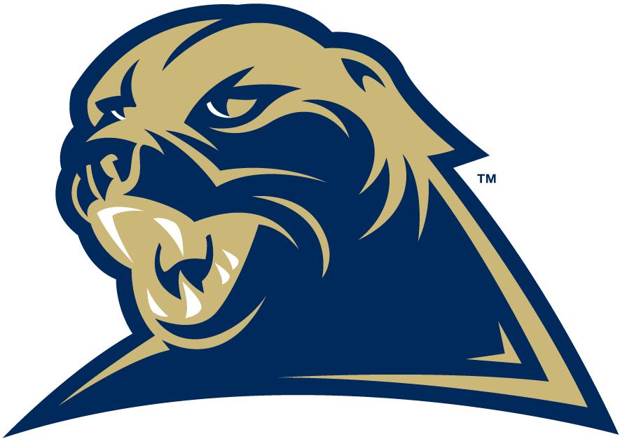 Pittsburgh Panthers Logo Alternate Logo (2002-2015) - Modernized panther head. SportsLogos.Net