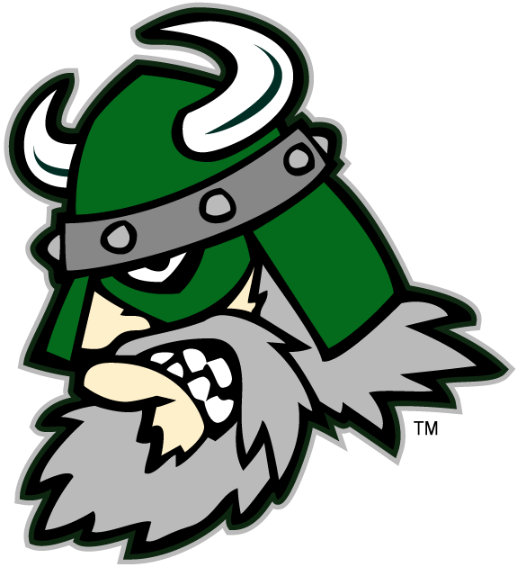 Portland State Vikings Logo Mascot Logo (1999-2015) - Portland State Vikings mascot - Victor E. Viking SportsLogos.Net