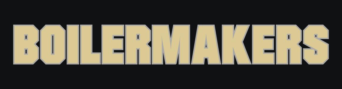 Purdue Boilermakers Logo Wordmark Logo (2012-Pres) -  SportsLogos.Net