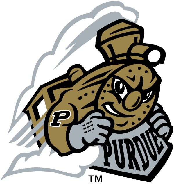 Purdue Boilermakers Logo Alternate Logo (1996-2011) - Purdue youth mark SportsLogos.Net