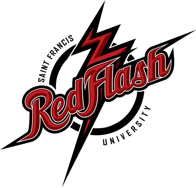 Saint Francis Red Flash Logo Primary Logo (2012-Pres) -  SportsLogos.Net