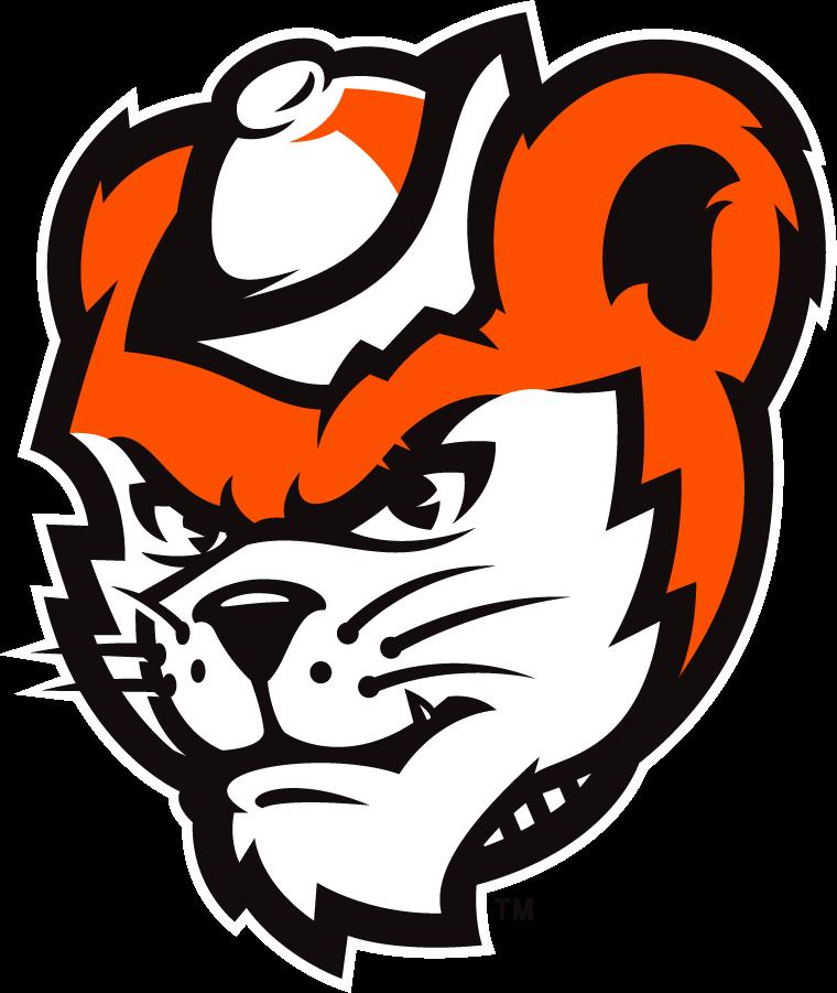Sam Houston State Bearkats Logo Mascot Logo (2020-Pres) - As part of their rebranding efforts in 2020, the Sam Houston St Bearkats released this updated deciption of the school's mascot Sammy Bearkat SportsLogos.Net