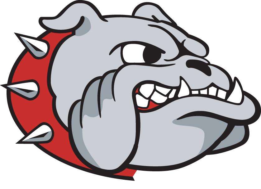 Samford Bulldogs Logo Secondary Logo (2000-2015) - Growling Bulldog's head SportsLogos.Net