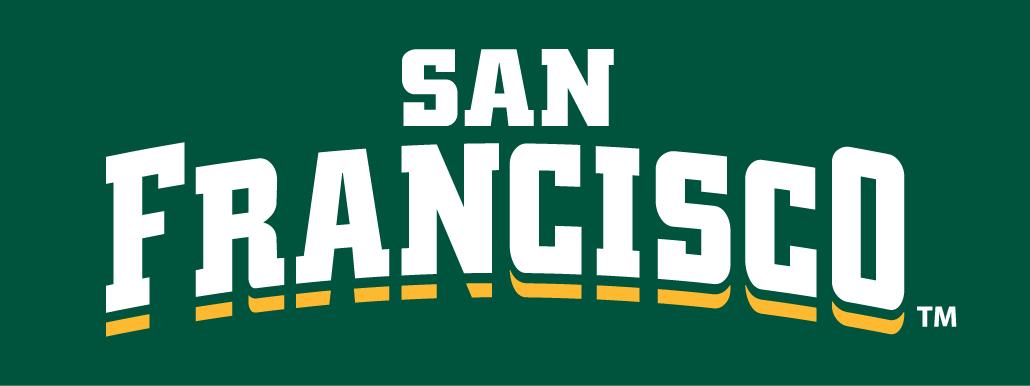 San Francisco Dons Logo Wordmark Logo (2012-Pres) -  SportsLogos.Net