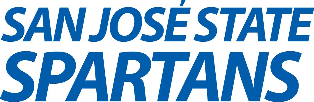 San Jose State Spartans Logo Wordmark Logo (2013-Pres) -  SportsLogos.Net