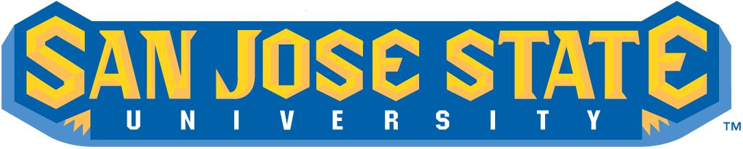 San Jose State Spartans Logo Wordmark Logo (2000-2012) -  SportsLogos.Net