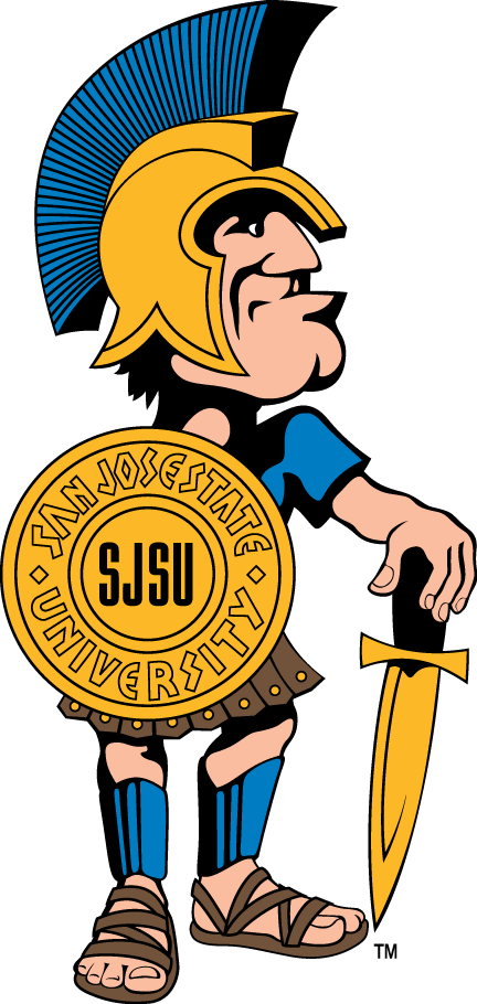 San Jose State Spartans Logo Mascot Logo (2000-2012) -  SportsLogos.Net