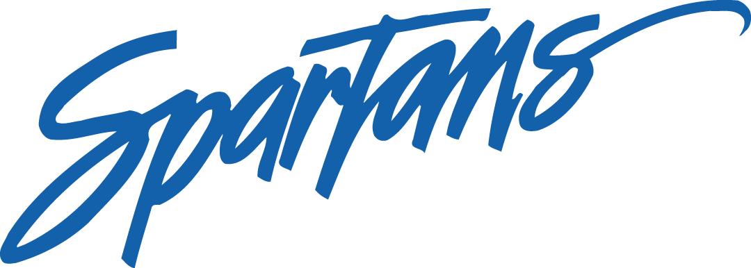 San Jose State Spartans Logo Wordmark Logo (2000-2010) -  SportsLogos.Net