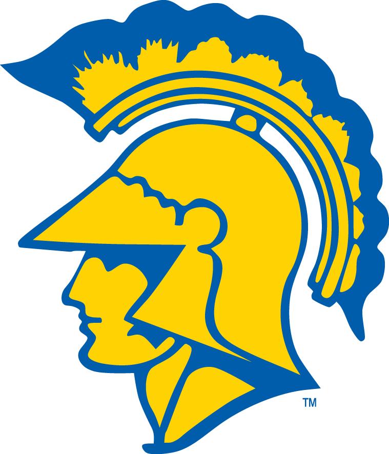 San Jose State Spartans Logo Primary Logo (1954-1961) -  SportsLogos.Net