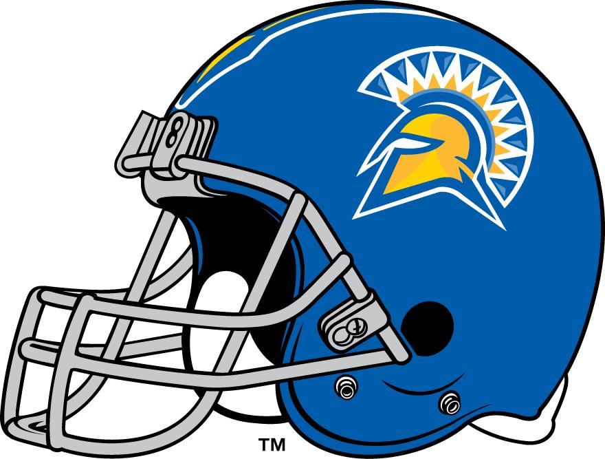 San Jose State Spartans Helmet Helmet (2000-Pres) -  SportsLogos.Net
