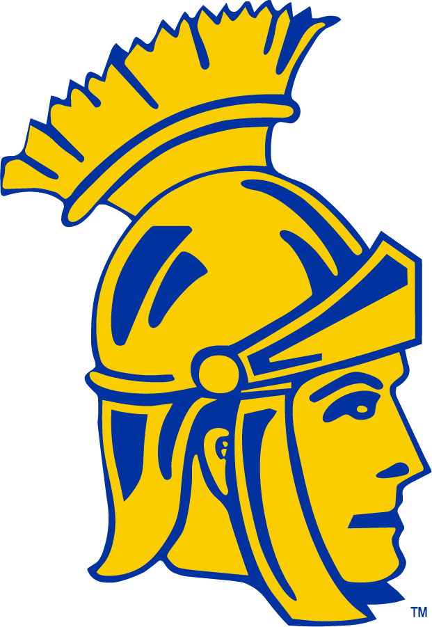 San Jose State Spartans Logo Primary Logo (1949-1960) -  SportsLogos.Net
