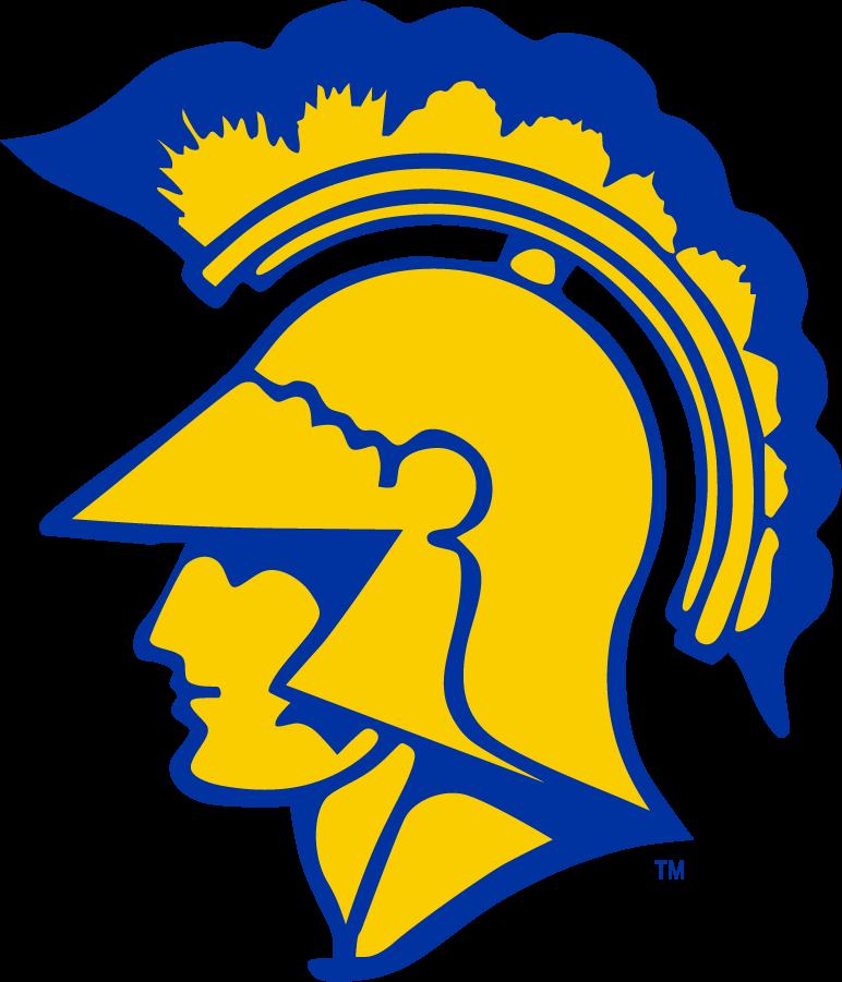 San Jose State Spartans Logo Primary Logo (1960-1977) -  SportsLogos.Net