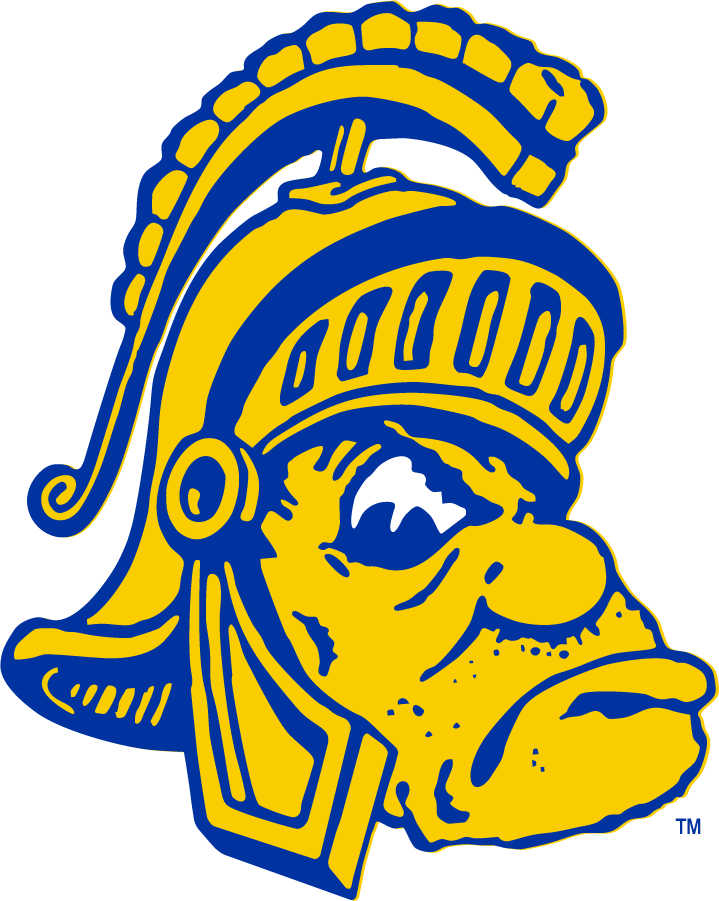 San Jose State Spartans Logo Primary Logo (1948-1949) -  SportsLogos.Net