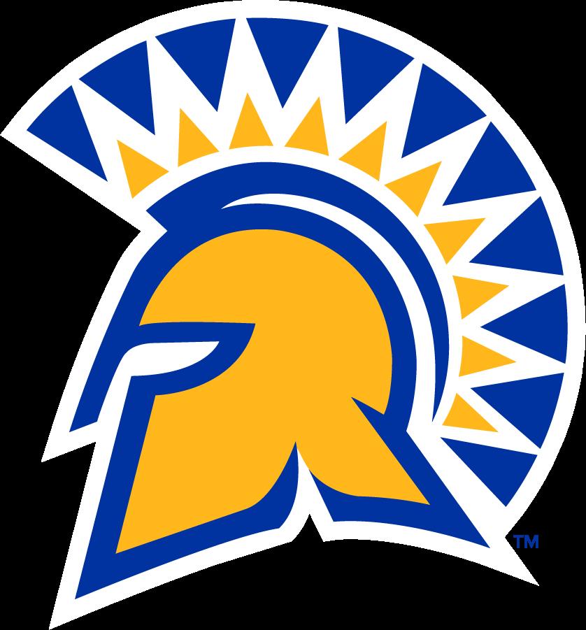San Jose State Spartans Logo Primary Logo (2018-Pres) - In September 2018, SJSU merged the university spirit mark and the Athletics Spartan helmet. SportsLogos.Net