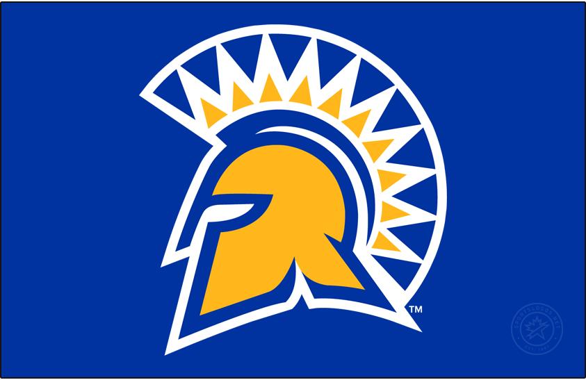 San Jose State Spartans Logo Primary Dark Logo (2018-Pres) - In September 2018, SJSU merged the university spirit mark and the Athletics Spartan helmet. SportsLogos.Net