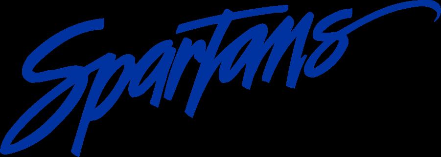 San Jose State Spartans Logo Wordmark Logo (1999-2010) -  SportsLogos.Net
