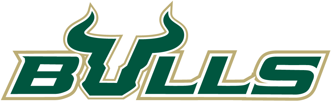 south florida bulls wordmark logo ncaa division i s t ncaa s t rh sportslogos net usf logistics inc usf logistics in ontario ca