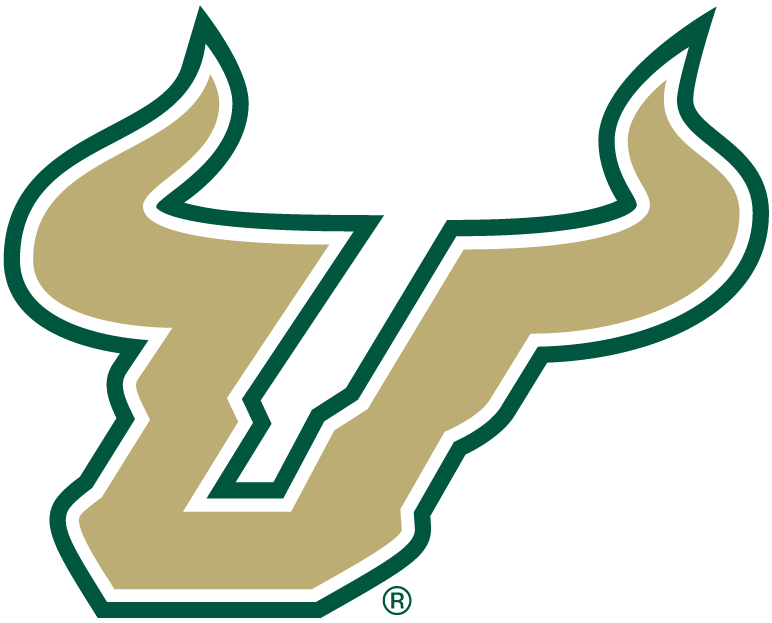 south florida bulls alternate logo ncaa division i s t ncaa s t rh sportslogos net usf logistics services inc usf logistics chicago il
