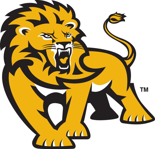 Southeastern Louisiana Lions Logo Alternate Logo (2003-Pres) - Standing golden lion SportsLogos.Net