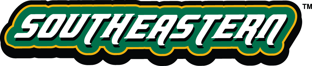 Southeastern Louisiana Lions Logo Wordmark Logo (2003-Pres) - Southeastern in white on green SportsLogos.Net