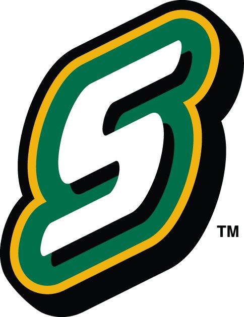 Southeastern Louisiana Lions Logo Alternate Logo (2003-Pres) - White S on green slanted SportsLogos.Net