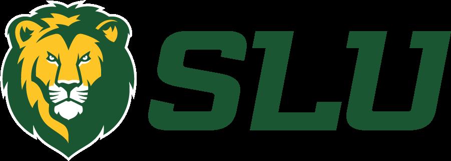 Southeastern Louisiana Lions Logo Wordmark Logo (2021-Pres) - SLU partnered with Dallas, Texas-based Torch Creative to to enhance the Southeastern image and visual presence. SportsLogos.Net