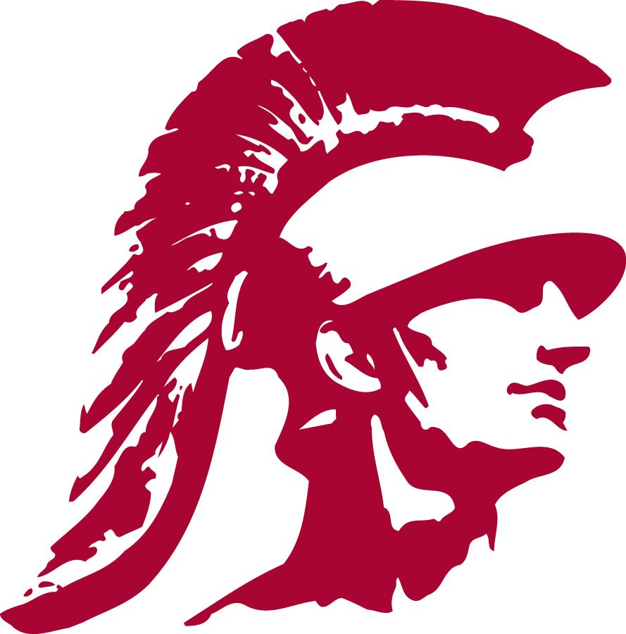 Southern California Trojans Logo Secondary Logo (2000-2015) - Trojan's head SportsLogos.Net