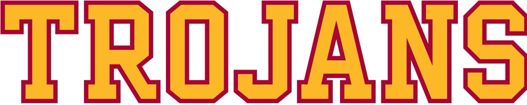 Southern California Trojans Logo Wordmark Logo (2001-2016) -  SportsLogos.Net