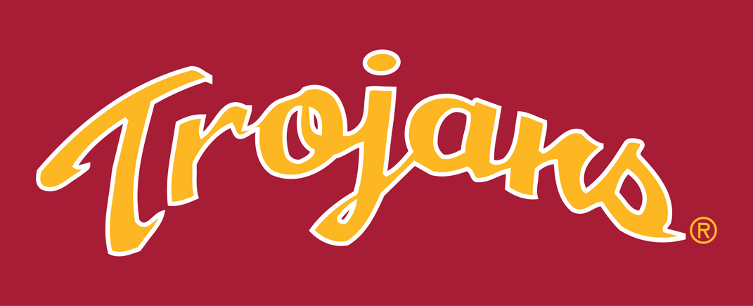 Southern California Trojans Logo Wordmark Logo (1993-Pres) -  SportsLogos.Net