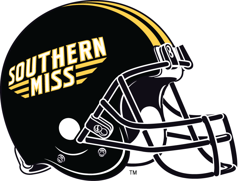 new product a64c4 a039e Southern Miss Golden Eagles Helmet - NCAA Division I (s-t ...