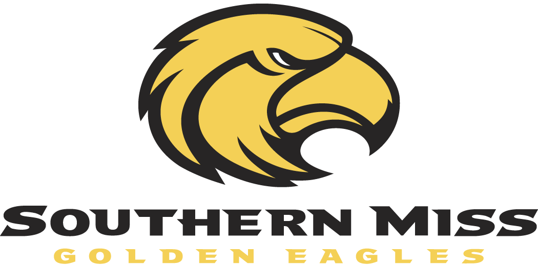 southern miss golden eagles primary logo ncaa division i