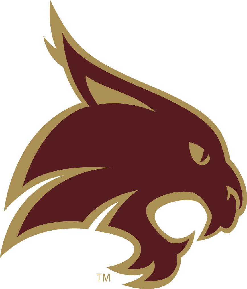 Texas State Bobcats Logo Alternate Logo (2008-Pres) -  SportsLogos.Net