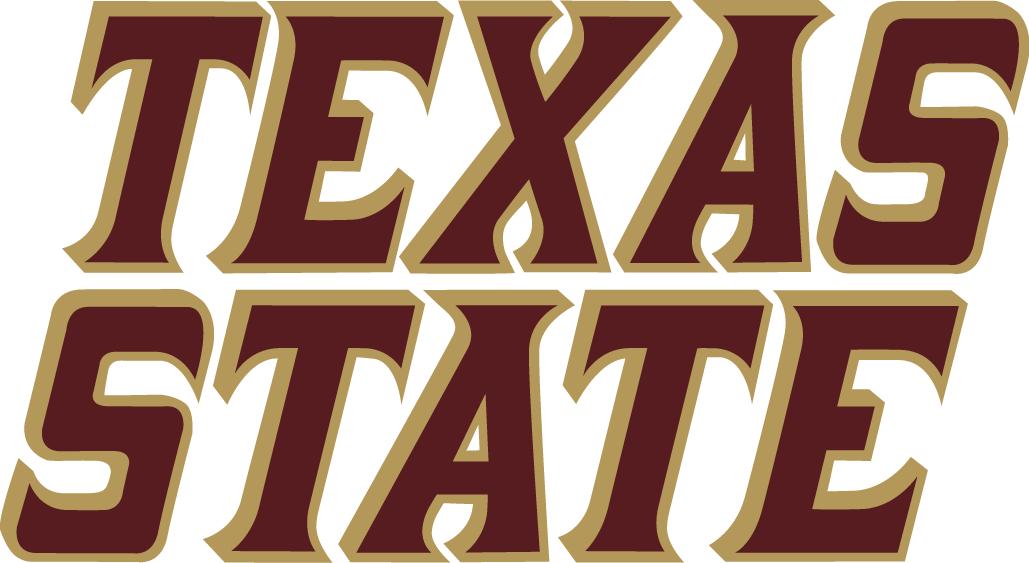 Texas State Bobcats Logo Wordmark Logo (2003-2007) -  SportsLogos.Net