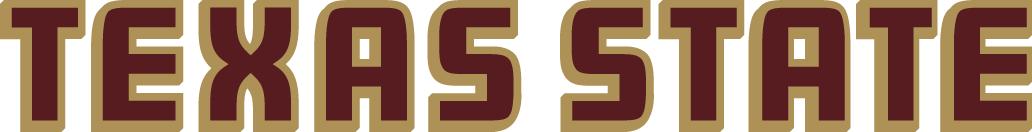Texas State Bobcats Logo Wordmark Logo (2008-Pres) -  SportsLogos.Net