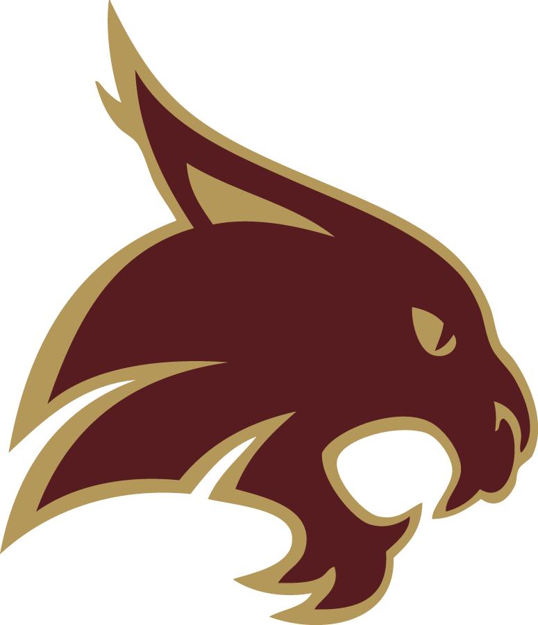 Texas State Bobcats Logo Secondary Logo (2003-2007) -  SportsLogos.Net