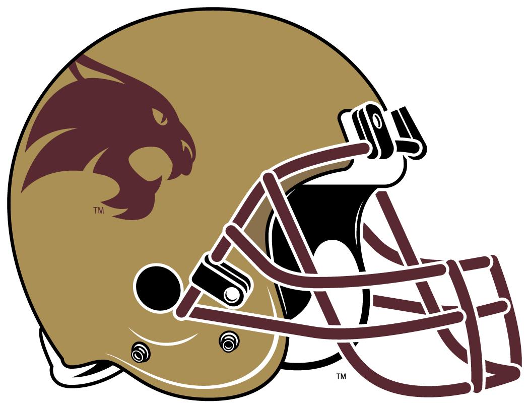 Texas State Bobcats Helmet Helmet (2003-Pres) -  SportsLogos.Net