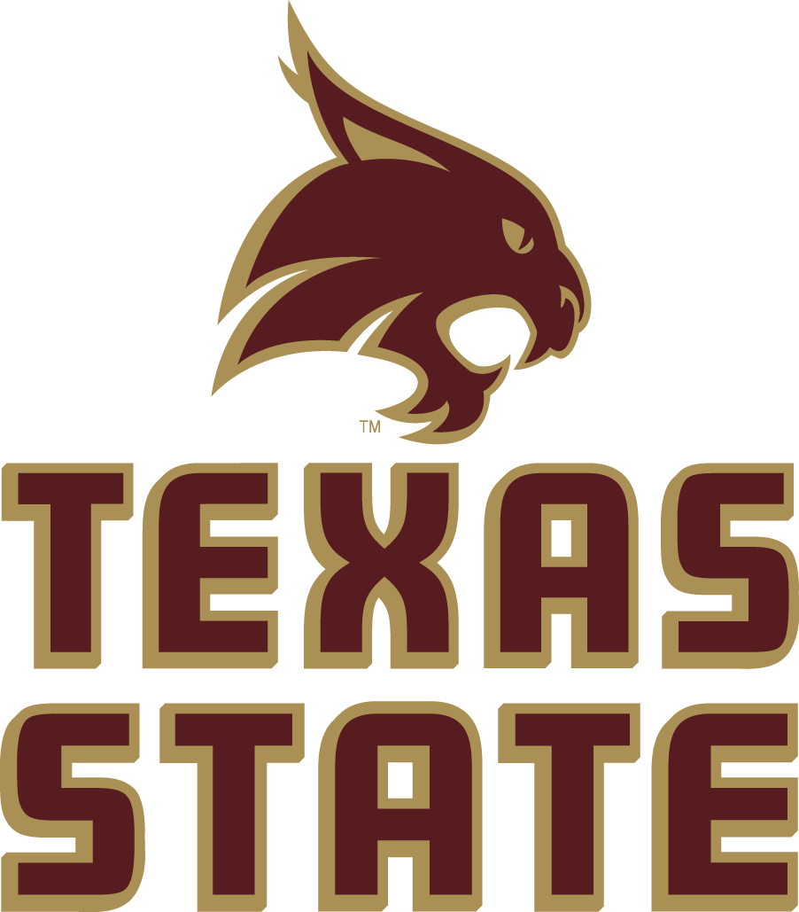 Texas State Bobcats Logo Primary Logo (2008-Pres) - Red Bobcats head SportsLogos.Net